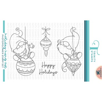 Trinity Stamps HOLIDAY HANG OUT Clear Stamp Set tps157