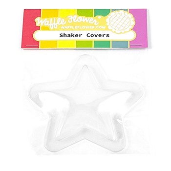 Waffle Flower Shaker Cover PUFFY STARS WFE073