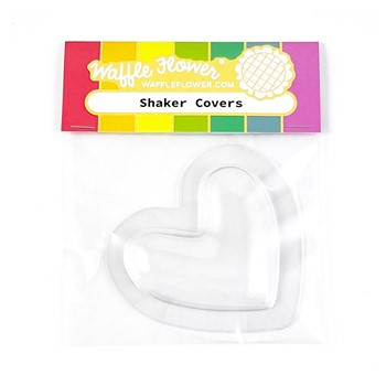 Waffle Flower Shaker Cover PUFFY HEARTS WFE072