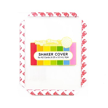 Waffle Flower SHAKER COVER A2 Infinity WFE034