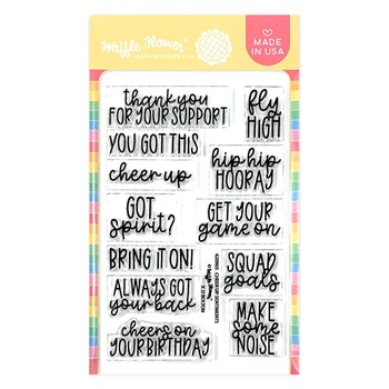 Waffle Flower CHEER UP SENTIMENTS Clear Stamps 420903