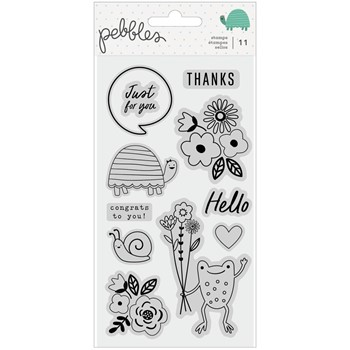 Pebbles Inc. KID AT HEART Clear Stamp Set 34003737