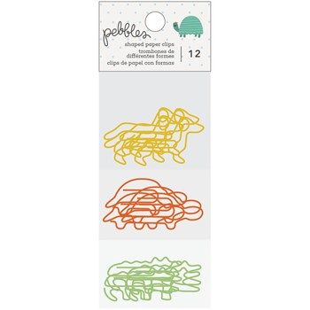 Pebbles Inc. KID AT HEART Shaped Paper Clips 34003740