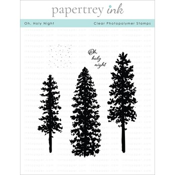 Papertrey Ink OH HOLY NIGHT Clear Stamps 1340