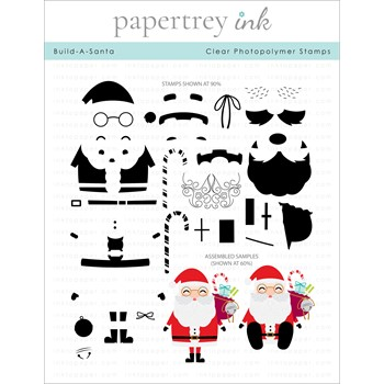 Papertrey Ink BUILD A SANTA Clear Stamps 1337