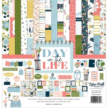 Echo Park DAY IN THE LIFE 12 x 12 Collection Kit dl260016