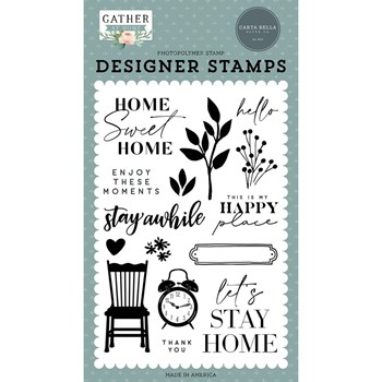 Carta Bella ENJOY THESE MOMENTS Clear Stamps cbgh143044