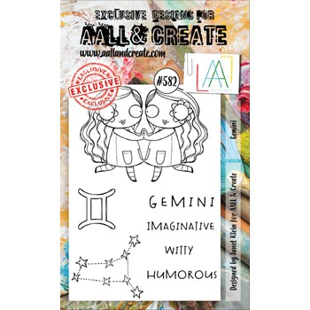 AALL & Create GEMINI A6 Clear Stamps aall582