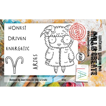 AALL & Create ARIES A7 Clear Stamps aall584