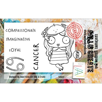 AALL & Create CANCER A7 Clear Stamps aall585