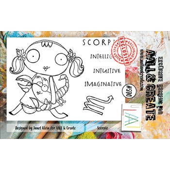 AALL & Create SCORPIO A7 Clear Stamps aall590
