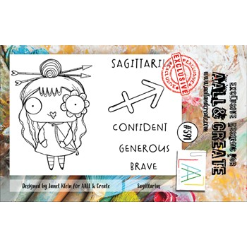 AALL & Create SAGITTARIUS A7 Clear Stamps aall591