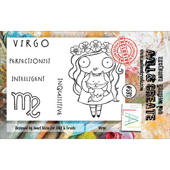 AALL & Create VIRGO A7 Clear Stamps aall593