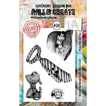 AALL & Create ADD ONS A7 Clear Stamps aall597