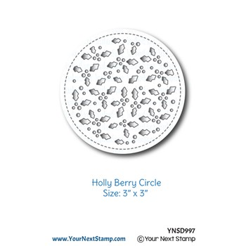 Your Next Die HOLLY BERRY CIRCLE ynsd997