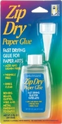 Zip Dry PAPER GLUE Permanent Adhesive Paper Arts zoom image