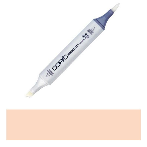 Copic Sketch Marker YR61 SPRING ORANGE Pale Light Pastel Preview Image