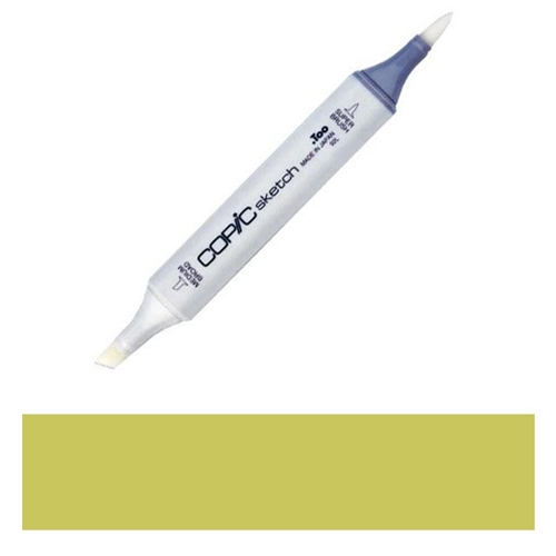 Copic Sketch Marker YG95 PALE OLIVE Light Green Yellow Preview Image
