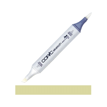 Copic Sketch Marker YG93 GRAYISH YELLOW Light Dusty Green Pale