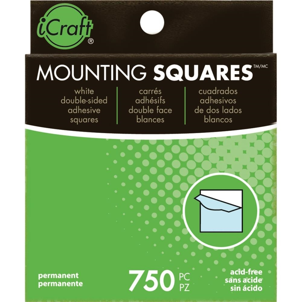 Therm O Web MOUNTING SQUARES Self-Adhesive & Archival Safe Value Pack 3872 zoom image