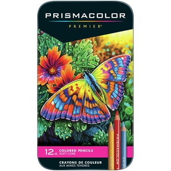 Prismacolor PREMIER COLORED PENCILS Set of 12 3596
