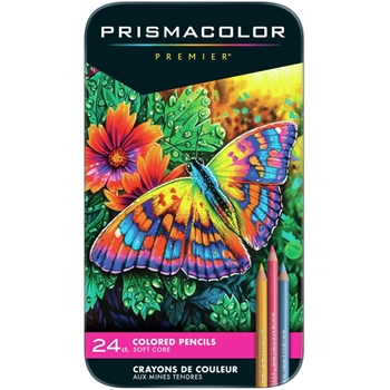 Prismacolor PREMIER COLORED PENCILS Set of 24 3597 *