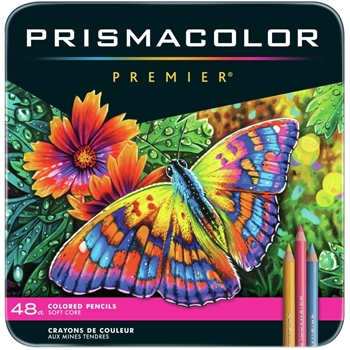 Prismacolor PREMIER COLORED PENCILS Set of 48 3598