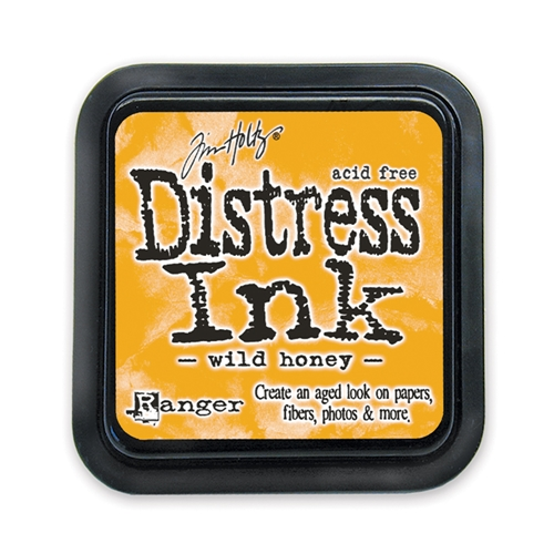 Tim Holtz Distress Ink Pad WILD HONEY Ranger TIM27201 Preview Image