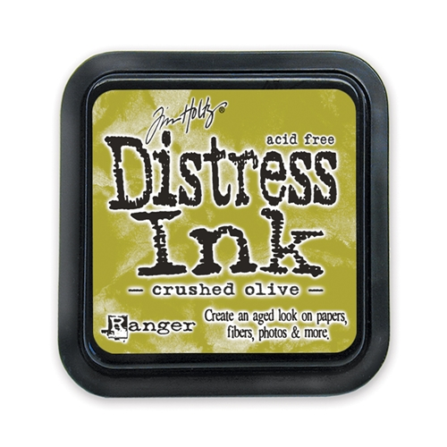 Tim Holtz Distress Ink Pad CRUSHED OLIVE Ranger TIM27126 Preview Image