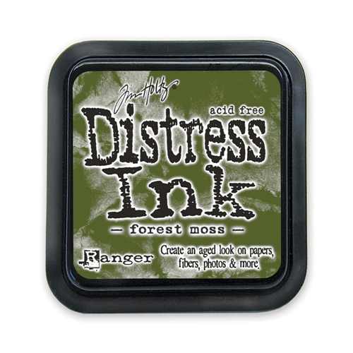 Tim Holtz Distress Ink Pad FOREST MOSS Ranger TIM27133 Preview Image
