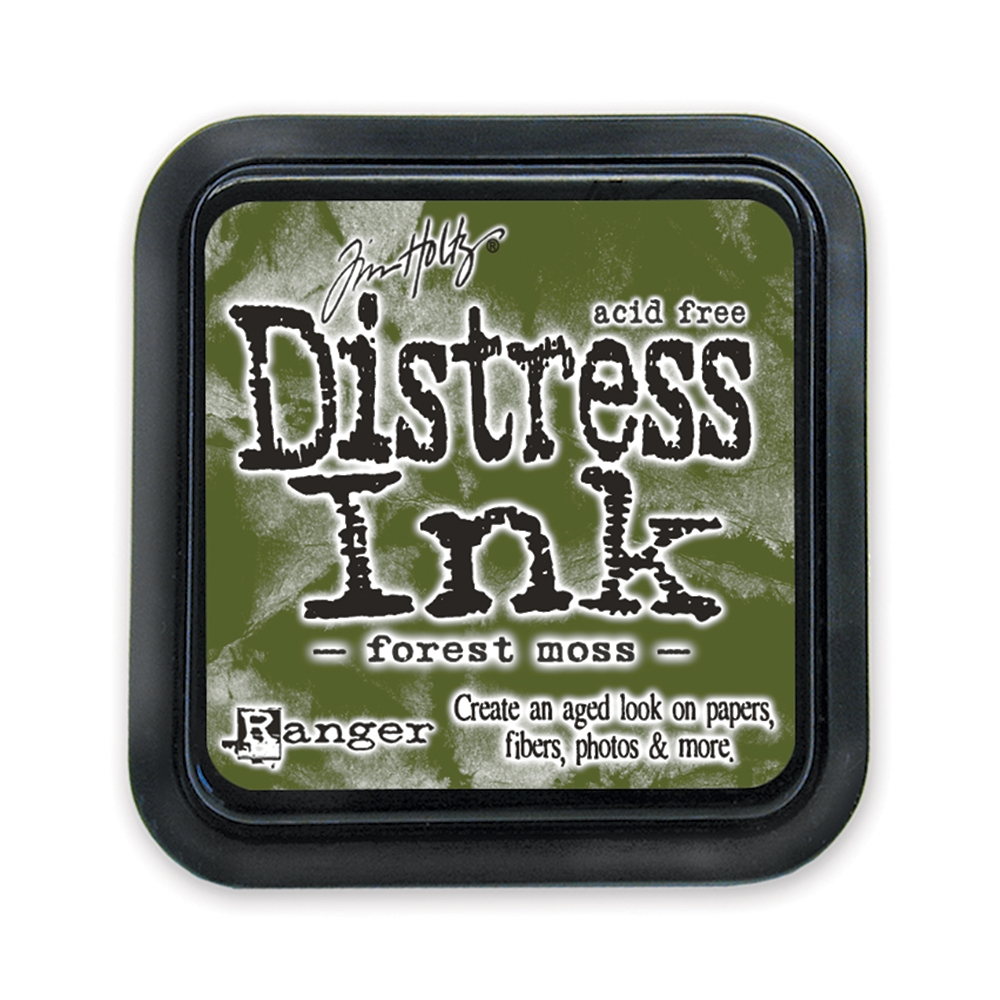Tim Holtz Distress Ink Pad FOREST MOSS Ranger TIM27133 zoom image