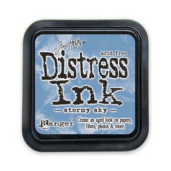 Tim Holtz Distress Ink Pad STORMY SKY Ranger TIM27171