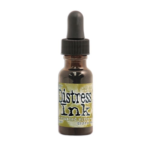 Tim Holtz Distress Reinker CRUSHED OLIVE Ranger TIM27249 Preview Image