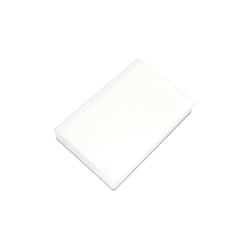 Hero Arts Rubber Stamp CLEAR ACRYLIC BLOCK 4 x 4.5 cl081*