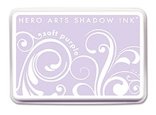 Hero Arts SHADOW Ink Pad SOFT PURPLE Lavender AF167