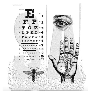 Tim Holtz Cling Rubber Stamps ODDITIES cms083