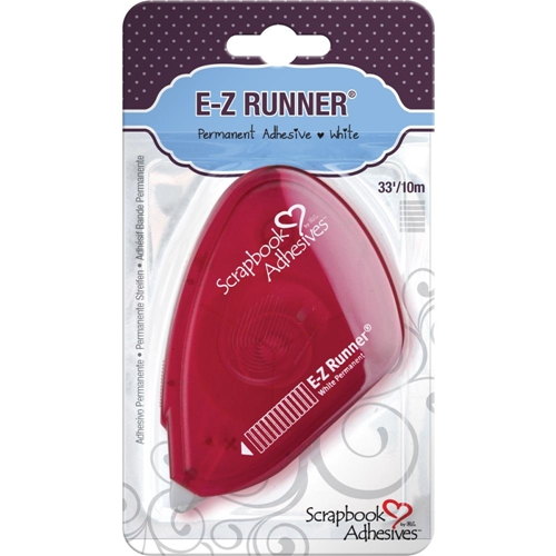 Scrapbook Adhesives E-Z RUNNER RED Permanent Tape 01644 Preview Image