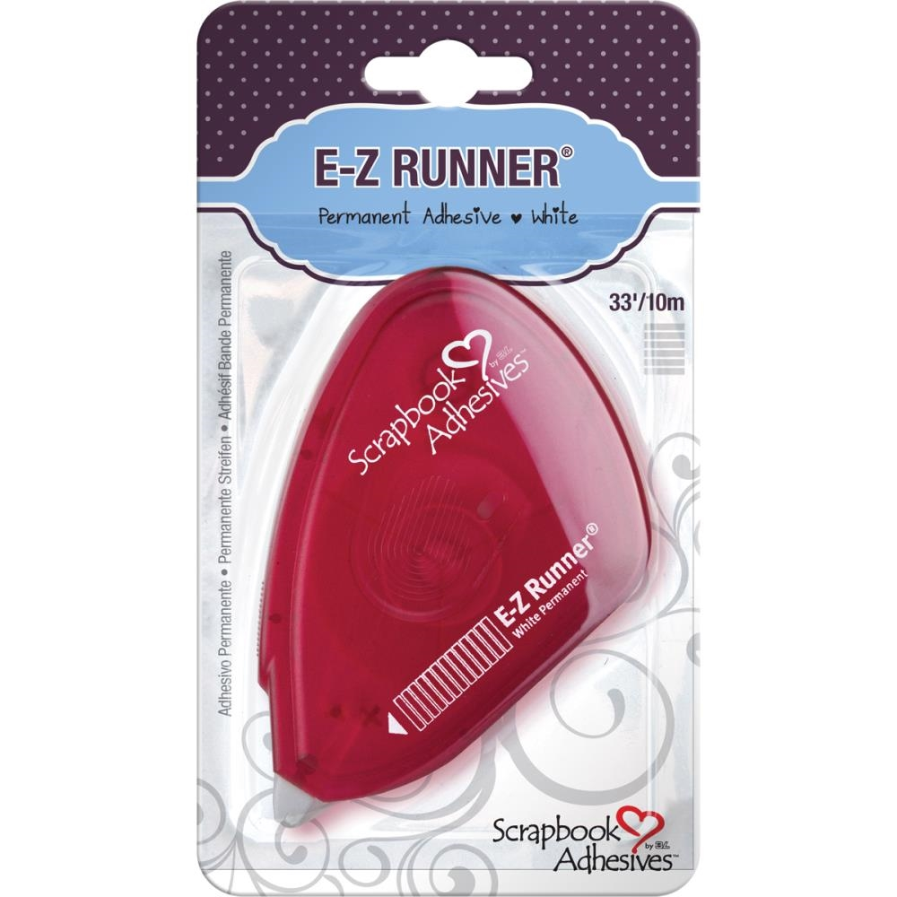 Scrapbook Adhesives E-Z RUNNER RED Permanent Tape 01644 zoom image