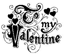 Tim Holtz Rubber Stamp VALENTINE Stampers Anonymous k1-1531 zoom image