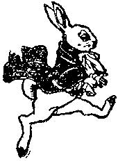 Tim Holtz Rubber Stamp RABBIT Easter Spring Stampers Anonymous K2-1540 zoom image