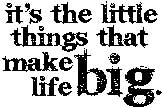 Tim Holtz Rubber Stamp LITTLE THINGS Stampers Anonymous J1-1545 zoom image