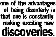 Tim Holtz Rubber Stamp DISORDERLY Stampers Anonymous K2-1546 Preview Image