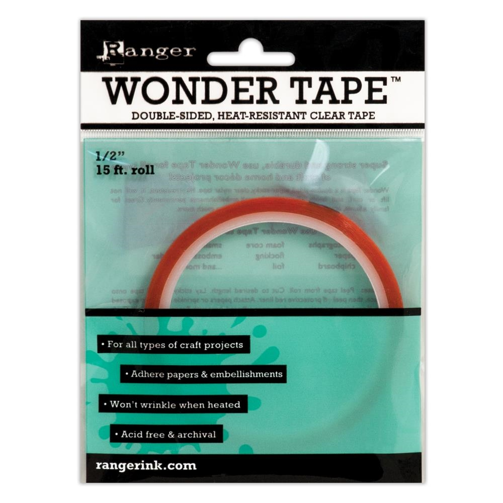 Ranger WONDER TAPE 0.5 Inch Double Sided 15 ft. IWT27393 zoom image