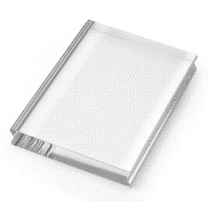 Stampendous Clear Acrylic Block Medium 3 x 4 Stamp Handle ssh34