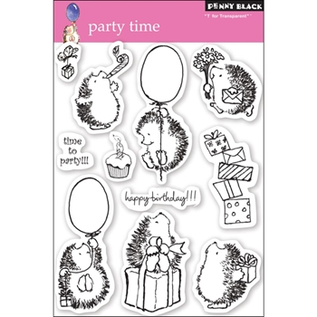 Penny Black Clear Stamps PARTY TIME 30-049
