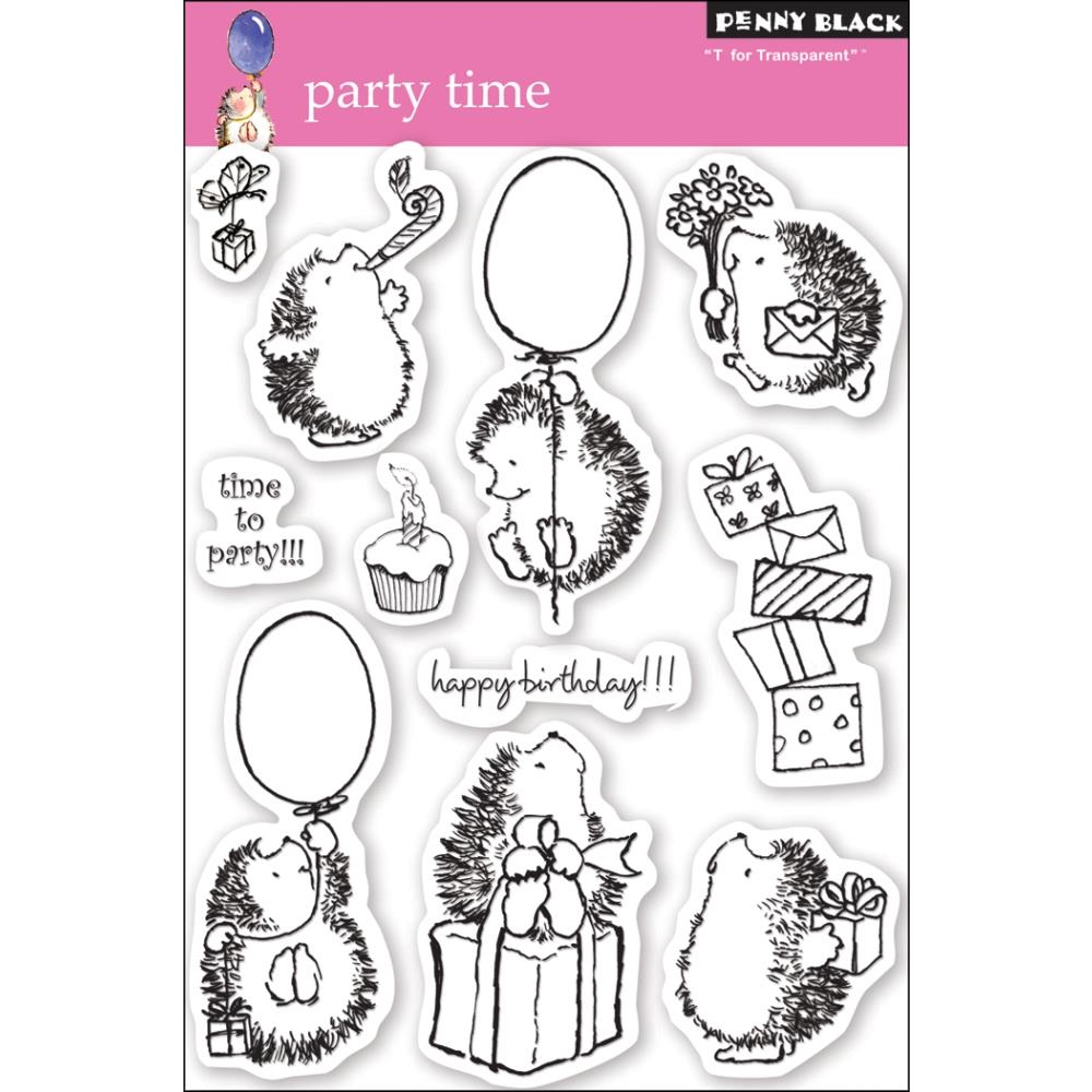 Penny Black Clear Stamps PARTY TIME 30-049 zoom image
