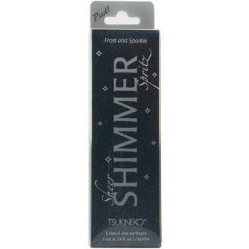 Tsukineko FROST and SPARKLE Sheer Shimmer Spritz IA-SML-200