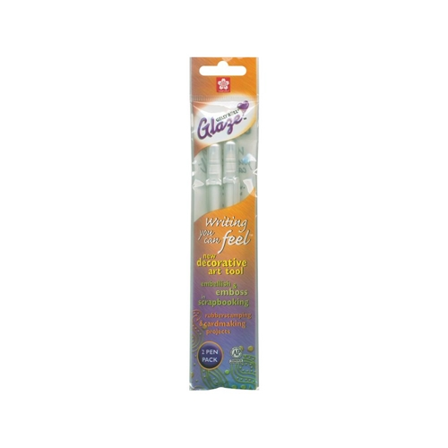 Sakura WHITE OPAQUE GLAZE GEL PENS 2 Pack 38501 Preview Image