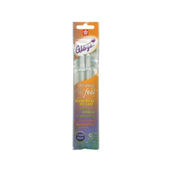 Sakura WHITE OPAQUE GLAZE GEL PENS 2 Pack 38501