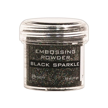 Ranger Embossing Powder BLACK SPARKLE EPJ37460